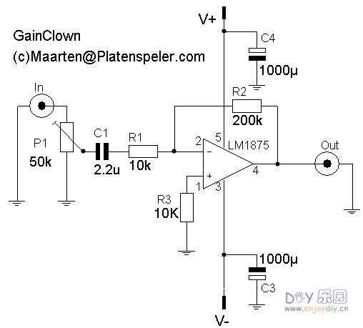 tda7o88t电路图