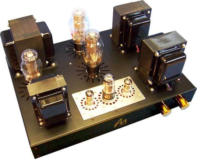 "我的""audionote kit1one 300b电子管单端胆机"""