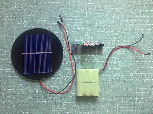 主页 电子diy 控制电路 灯光控制     廉价太阳能小夜灯----太阳能