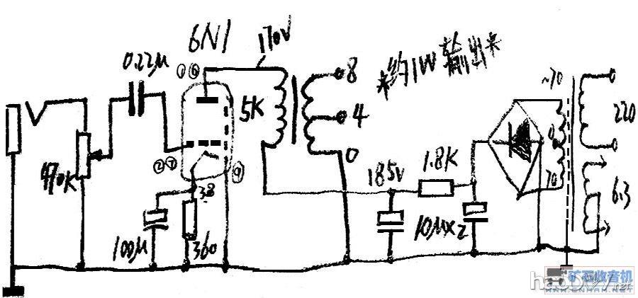 双声道6n2 6n1电子管小胆机功放 输入牛6n1推并管6n7p电子管胆机功放