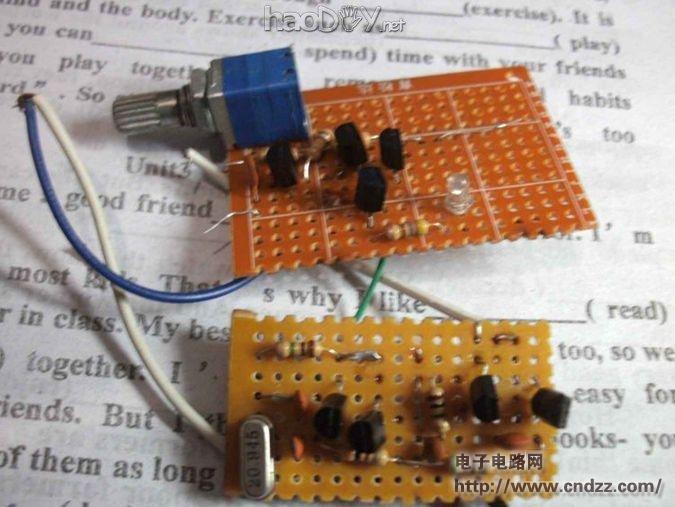 调幅发射器_调幅短波音频发射器自制过程,原理图_diy音响功放音箱胆机电子 ...